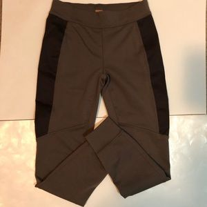 Free People Brown Joggers with dark on sides SM